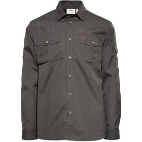 Fjällräven Sarek Trekking Shirt Men dark grey